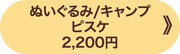 ぬいぐるみ/キャンプ ピスケ 2,200円 》