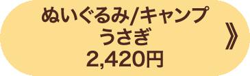 ぬいぐるみ/キャンプ うさぎ 2,420円 》