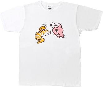カナヘイの小動物in水族館&動物園 Tシャツ