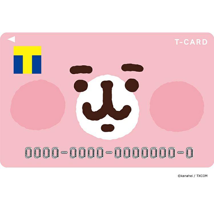 Tカード(ピスケ&うさぎデザイン)