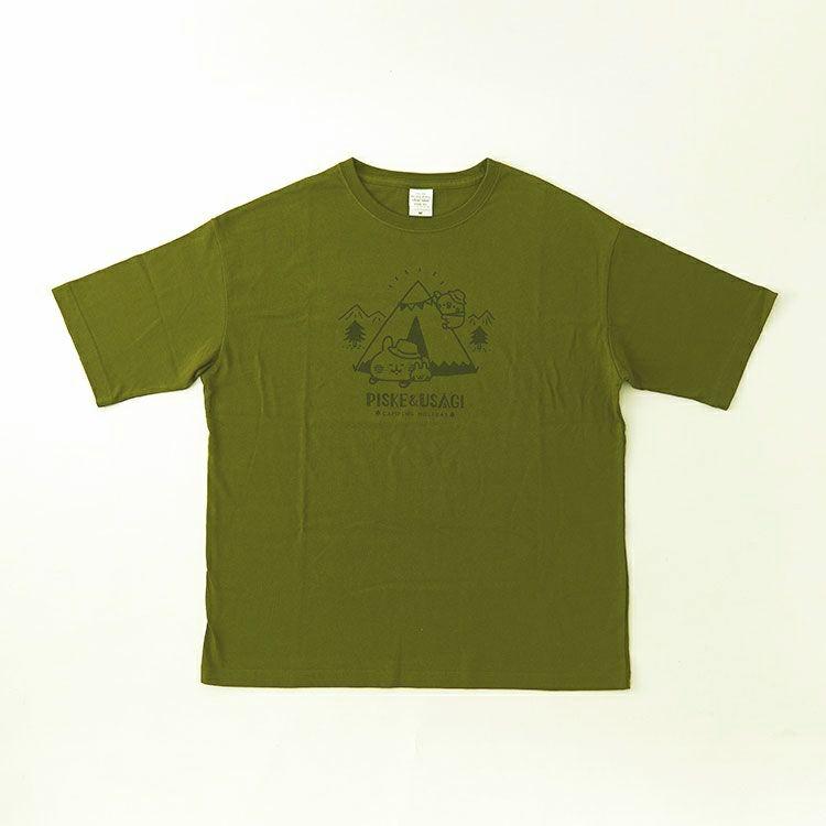 ビッグTシャツ(テント/シティグリーン)